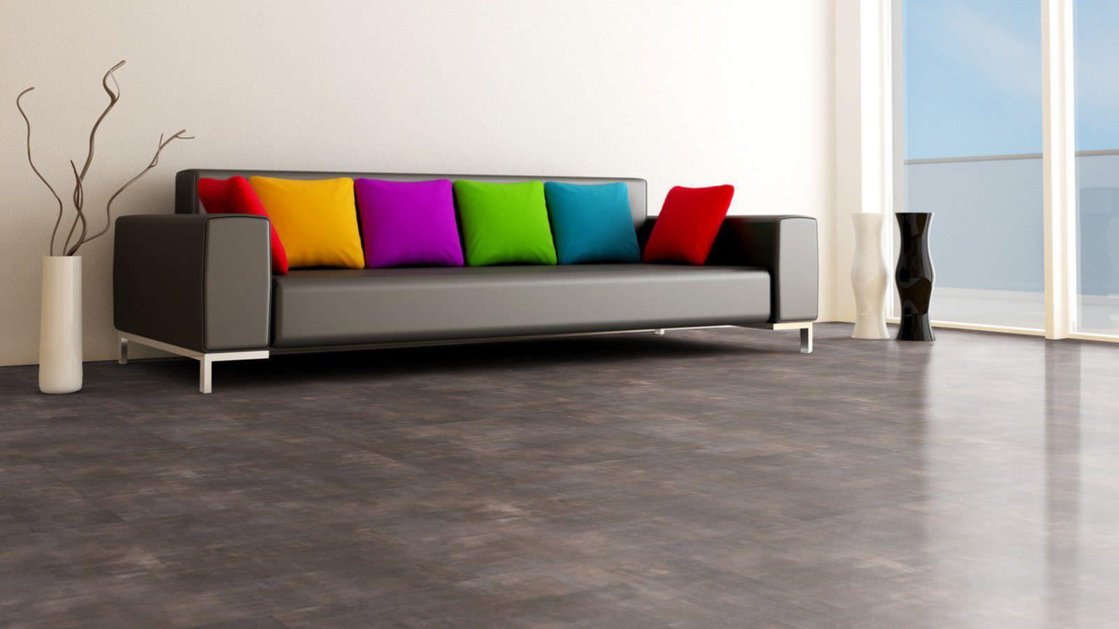 Vinyl flooring / acoustic