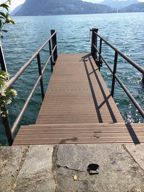 foto pontile villa sagol cassarate